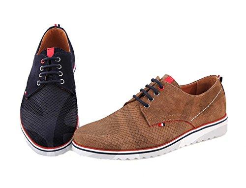 Casual - 1800Ca - Zapato Caballero Piel Marino