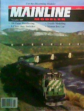 Mainline Modeler (November 2005) for sale  Delivered anywhere in USA