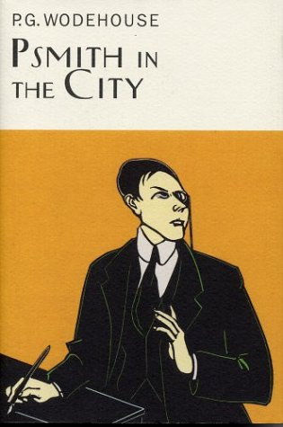 book cover of Psmith in the City