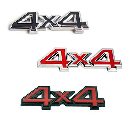 - 3D Metal 4X4 Four-Wheel Drive Car Sticker Emblem Badge For Jeep BMW Ford Volvo Nissan Mazda Audi VW Honda Toyota Lada Kia
