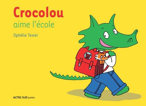 Crocolou aime lécole