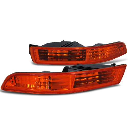 Spec-D Tuning LB-INT94AM-RS Acura Integra Rs Ls Gs Bumper Lights - Acura Integra Replacement Parts
