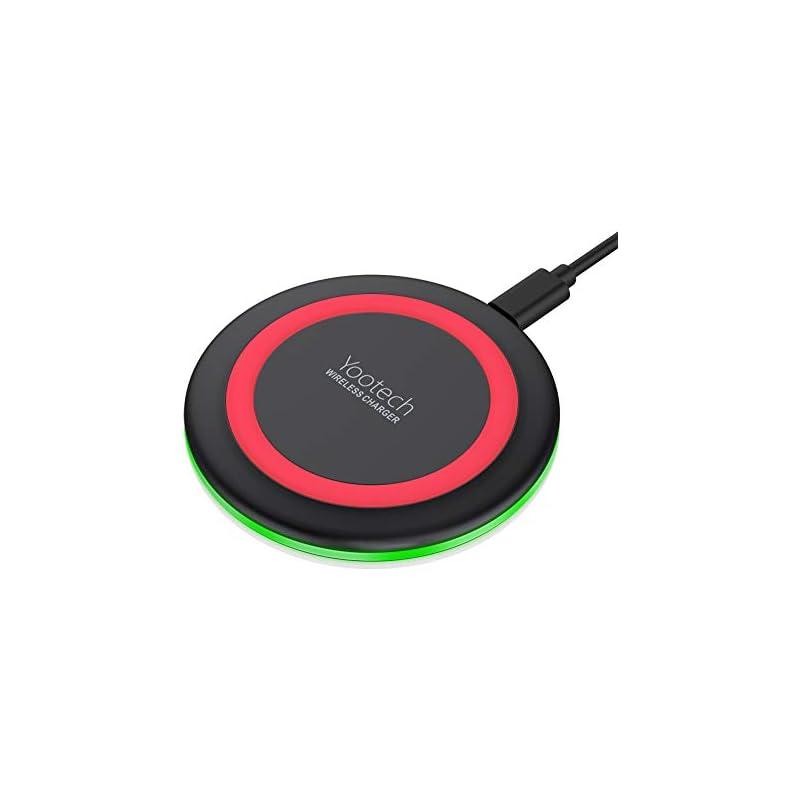 Yootech Wireless Charger Qi-Certified 7.
