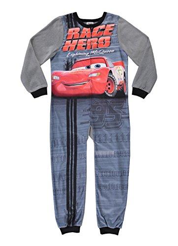 Cars Boys Character Blanket Sleeper - Zippered Onesie Pajama - 4 -