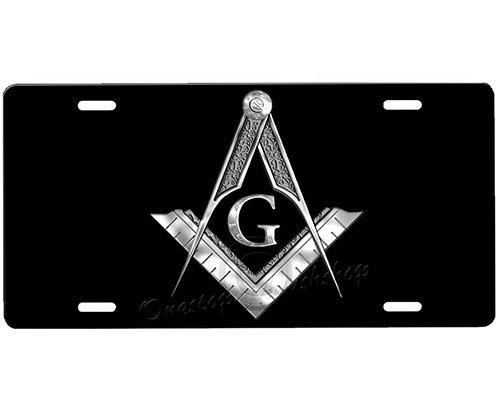 (Masonic License Plate)