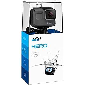 GoPro [Nueva] Hero Cámara de Acción con Display, Manos Libres, Full HD