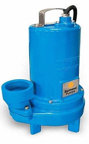 Barmesa Pumps 3BSE103SS Submersible Sewage Single Seal Non-Clog 2