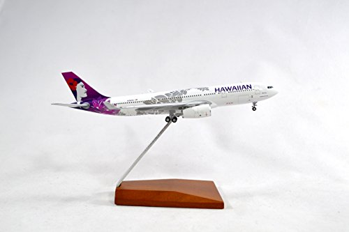 Geminijets Hawaiian Airlines Airbus A330 200 Diecast Airplane Model N361ha With Stand 1 400 Scale Part  Gjhal1650