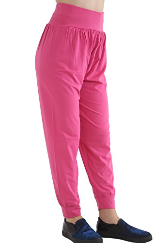 GW CLASSYOUTFIT® - Pantalón - para mujer Cereza