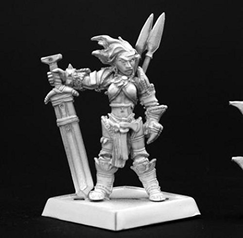 Reaper Miniatures 60003 Pathfinder Series Amiri, Human Barbarian Miniature REM60003