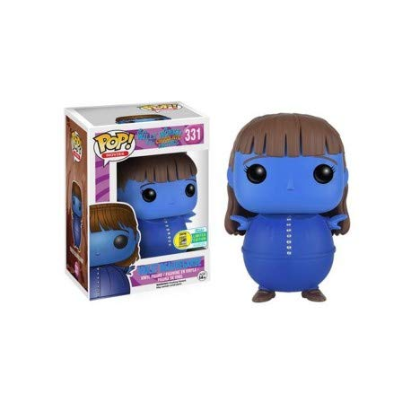 Funko Pop Movies Willy Wonka and the Chocolate Factory #331 Violet Beauregarde Summer Convention Exclusive (Real Willy Wonka And The Chocolate Factory)