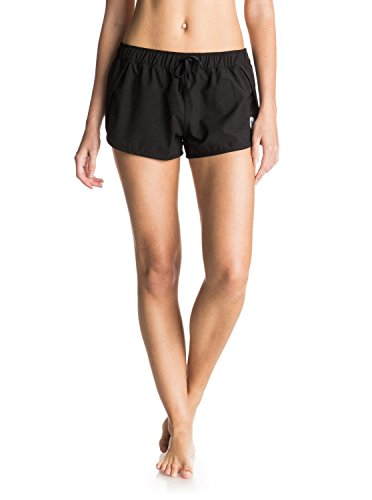 Roxy Women's Lo Down 2 Boardshort, True Black, XL