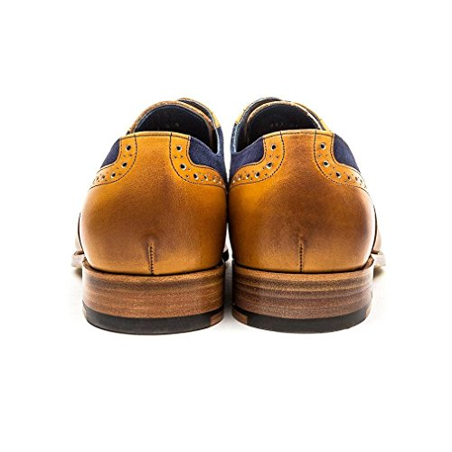 BARKER SHOES Barker Mens Shoe Haig Cedar/Blue 10.5