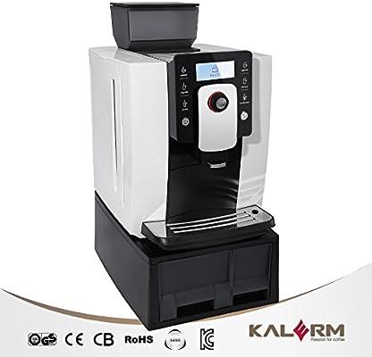 Kalerm Klm1601Pro-Cafetera automática de grano: Amazon.es: Hogar