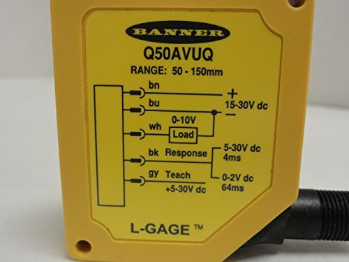 Banner Q50AVUQ Measurement Sensor 63869, 15-30Vdc