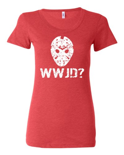 Go All Out XX-Large Light Red Womens WWJD