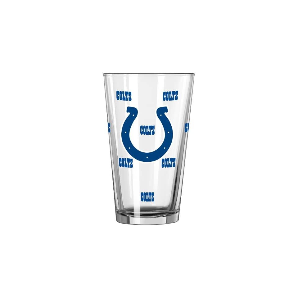 NFL Indianapolis Colts Color Changing Pint, 16 ounce, 2 Pack