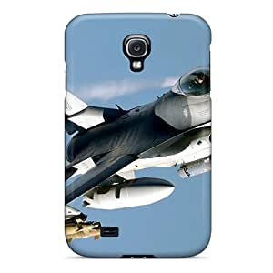Hot New Military Plane F-16 Case Cover For Galaxy S4 With Perfect Design