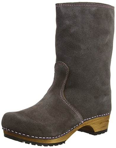 Sanita Charlotta Boot Anthracite/Nude size EU 39 - US L8.5 by Sanita
