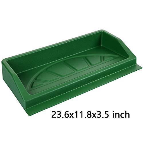 (PLAYEAGLE Golf Ball Tray Golf Driving Ball Box Solid Durable Super ABS Plastic Golf Ball Tray Baskets Golf Accessories Golf Driving Range Ball Tray )