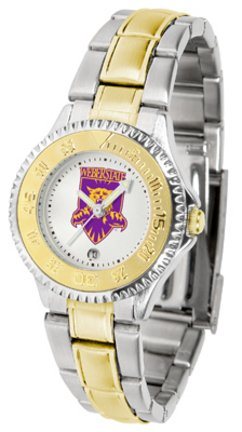 Weber State Wildcats Competitor Ladies Watch withツートンカラーバンド   B003N2UGEC