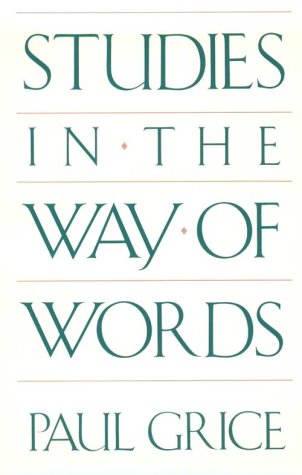 Studies in the Way of Words