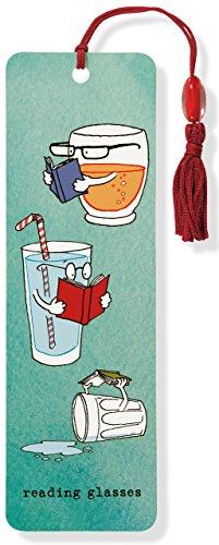 Reading Glasses Beaded Bookmark