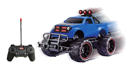 R/C Monster Pickup Truck Remote Control RTR Electric Vehicle Off-Road Race Car (1:20 Scale)