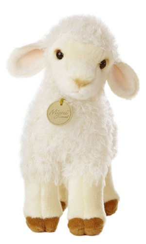 Amazon Com Aurora World Miyoni Lovely Lamb 10 Plush Toys Games