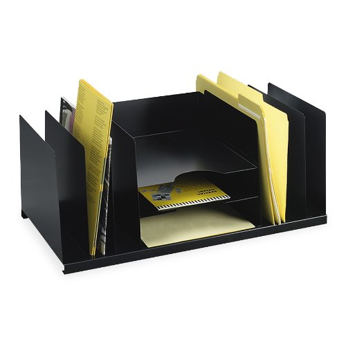 (STEELMASTER Steel Combination Desk Organizer, Letter Size, 21.5