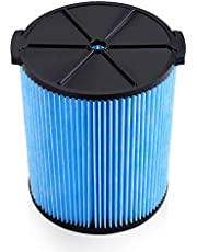 Housmile VF5000 Replacement Filter 3-Layer Pleated Paper Vacuum Filter Fits for Ridgid 5-20 Gallon Wet Dry Vacuums Compatible with WD1450 WD0970 WD1270 WD09700 WD06700 WD1680 WD1851