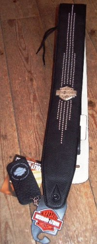 "Jim Dunlop Harley 2.5"" Lth Nailhd B S Str"