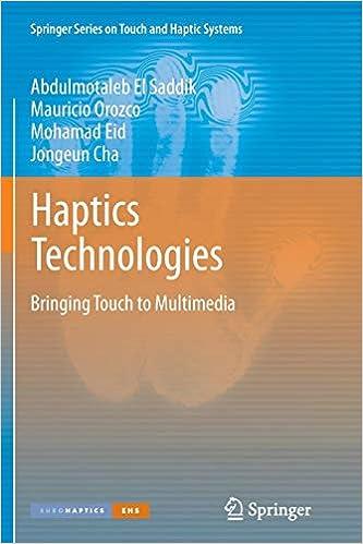 Haptics Technologies: Bringing Touch to Multimedia