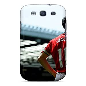 New OaChS8204nwYhe Ryan Giggs Is Waiting For Continuation Of Match Skin Case Cover Shatterproof Case For Galaxy S3