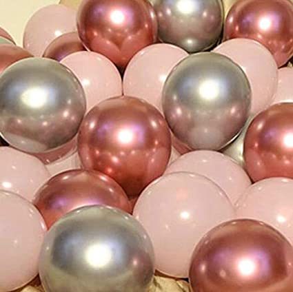 4D Sphere Mylar Foil Mirror Finish Big 22 Inchs 360 Degree Round Balloons Metallic Silver Balloons Chrome Silver Birthday New Year Party Supplies Silver Orbz Balloons Decorations Pack of 12