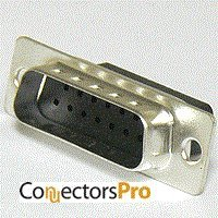 Male Crimp D-sub Connector - Pc Accessories - Connectors Pro DB15 Male D-Sub Crimp Type Connector, 10 Pcs PK