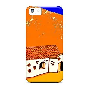 High-end Case Cover Protector For Iphone 5c(a Canary Isle View)