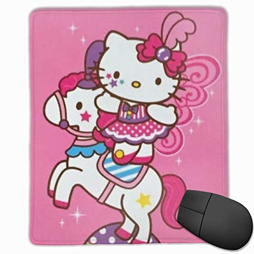 Mouse Pad, Circus Hello Kitty Non-Slip Rubber Base Gaming Mousepad for Computer Laptop- 8.6