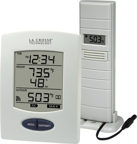 La Crosse Technology WS-9029U Wireless Weather Station with Digital Time (La Crosse Weather Station Sensor)
