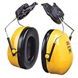 3M (Formerly Aearo) H9P3E Peltor Optime 98 Helmet Mount Earmuffs, Plastic, 1'' x 7.4'' x 5.1''