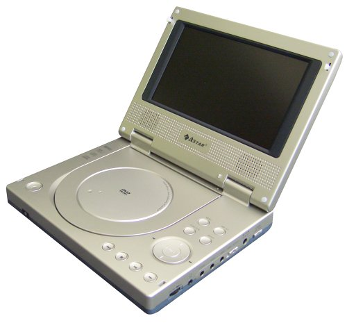 Astar PD3010 Astar Portable DVD Player with 6.5 inch Screen