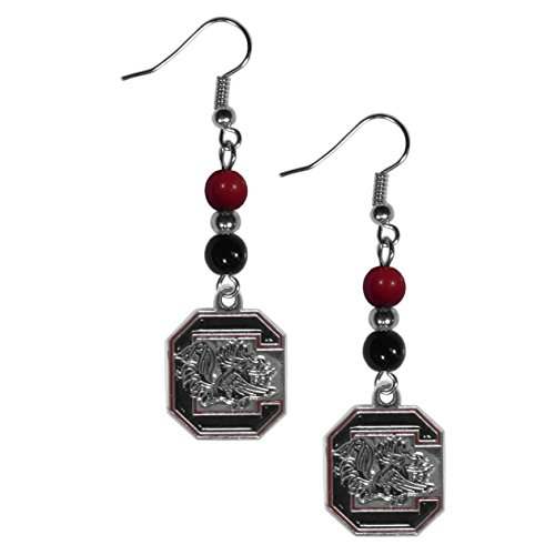 NCAA South Carolina Fighting Gamecocks Women's Fan Bead Dangle ()