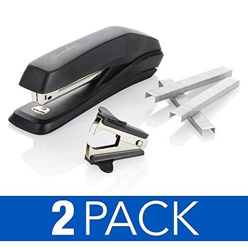 Swingline Stapler Value Pack, Antimicrobial Stapler, 15 Sheet Capacity, Includes Staples & Stapler Remover, 2 Pack (S70754551AZ)