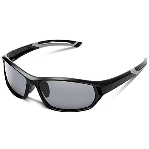 Polarized Sunglasses for Men Women Youth Sports Fishing Cycling Baseball Running Motorcycles Golf Tac lens