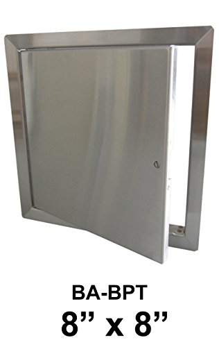 8'' x 8'' Stainless Steel Flush Non-Rated Access Door by Best Access Doors