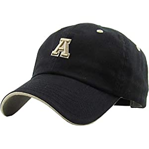100% Cotton A-Z Initial Alphabet Letter Baseball Cap for Teams Great Gift for Family Husband Wife Mom Dad Kids