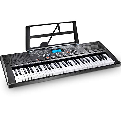 Electric Keyboard Piano 61-Key, Ohuhu Digital Piano Keyboard with USB Port & Teaching Modes for Beginners (Best Electronic Keyboard For Beginners)