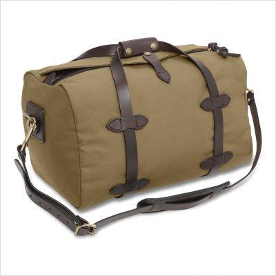 18'' Small Travel Duffel Color: Tan
