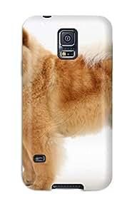 Garrison Kurland's Shop 1339291K84841251 Galaxy S5 Chow Chow Dog Print High Quality Tpu Gel Frame Case Cover