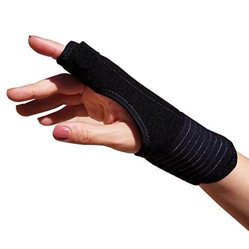 TrustWell Hand and Finger Immobilizer Splint   Thumb Splint, Wrist Brace, Finger Splint, Pinkie Splint Supports Hand and Wrist   Carpal Tunnel Brace, Arthritis Brace, Tendonitis Brace